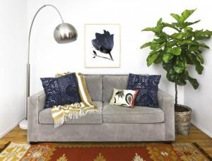 5-pernute decorative si pled moale accesorizare canapea living