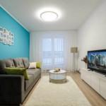 5-plafoniera tavan in locul lustrei amenajare apartament mic