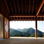5-priveliste uluitoare din terasa casei din lemn Coreea de Sud