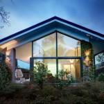 5-proiect casade vis moderna cu perete din sticla vedere panoramica