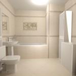 5-proiect digital randare 3D baia apartamentului de 42 mp
