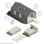 5-prototip wikihouse casa lemn 68 mp cu etaj