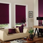 5-rulouri textile grena decor fereastra living modern elegant