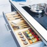 5-sertar ingust pentru ustensile si ingrediente integrat sub plita