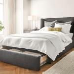 5-sertar mare glisant de la picioarele patului din dormitor