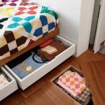 5-sertare pentru depozitare sub pat dormitor