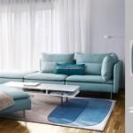 5-set canapele colectia Soderhamn turcoaz deschis magazin Ikea