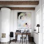 5-soba si dusumea alba living casa la tara danemarca