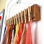 5-solutie ingenioasa de pastrare a esarfelor si cravatelor