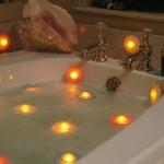 5-spoturi impermeabile LED pentru baie