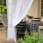5-stalp alb terasa alba chic amenajata in stil francez