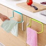 5-suporturi colorate pentru uscat prosoapele de bucatarie