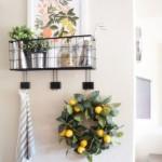 5-tablou si coronita cu lamai decor de vara pentru casa