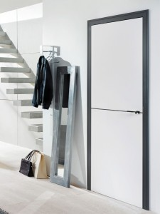 5-usa alba moderna cu toc negru design retro magazin Exclusive Doors