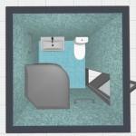 5-varianta amenajare baie aproape patrata de 3 mp-166x180cm
