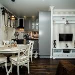 5-varianta amenajare living mic apartament cu bucatarie open space