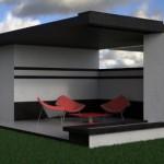 6 foisor casa structura metalica - Vision House