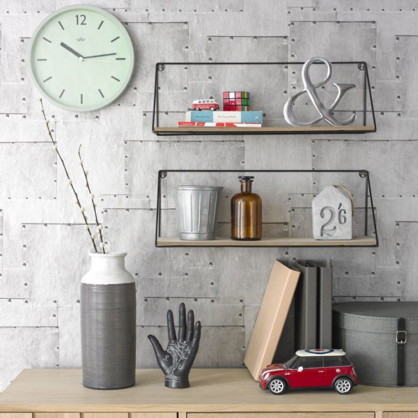 6-Idei accesorizare living modern stil vintage industrial