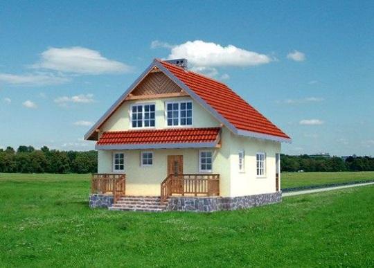 6-Spate casa mica parter si mansarda proiect 94 mp suprafata utila totala