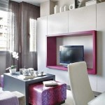 6-accente mov decor living modern in alb si gri