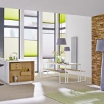 6-accentuare perete bucatarie open space cu panouri decorative din lemn 3D UltraWood Colorado