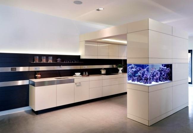 6-acvariu intre living si bucatarie open space