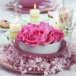 6-aranjament floral decor masa cina romantica Sfantul Valentin