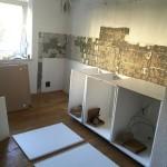6-asamblarea dulapurilor din mobila noua de bucatarie