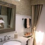 6-baie clasica finisata cu tapet cu imprimeu cu scris de mana