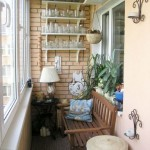 6-bancuta din lemn decor balcon mic apartament