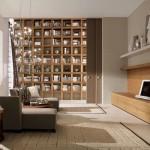 6-biblioteca moderna pentru carti decor living modern minimalist
