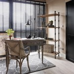 6-birou de lucru apartament mic cu doua camere