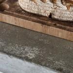 6-blat de lucru din beton cu aspect brutal decor mobila alba bucatarie scandinava