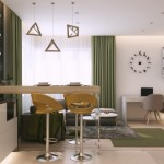 6-bucatarie deschisa spre living amenajare apartament modern mic 2 camere