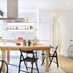 6-bucatarie deschisa spre living apartament 3 camere 55 mp