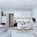 6-bucatarie mica de apartament stil scandinav cu mobila alba
