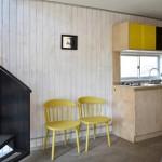 6-bucatarie minimalista mobila lemn natur Casa R structura otel