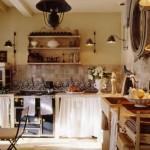 6-bucatarie rustica amenajata in stil provence casa veche Franta