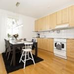6-bucatarie si loc de luat masa apartament modern 3 camere
