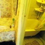 6-cada prea mare asezata in baie mult prea ingusta
