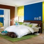 6-camera decorata cu prea multe culori stridente