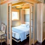 6-camera musafiri cu pat rabatabil vertical casa mica 55 mp