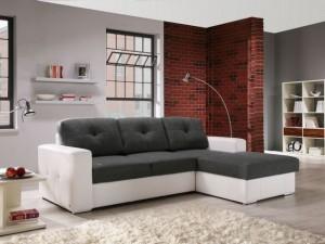 6-canapea coltar alb cu gri pentru living modern accente retro