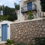6-casa frumoasa cu gard din piatra insula Spetses