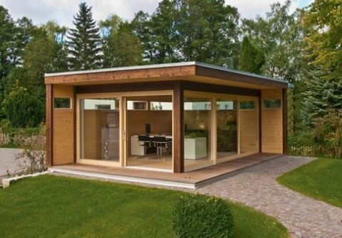 6-casuta din lemn pentru gradina design modern model A35 magazin Mobilier de Gradina