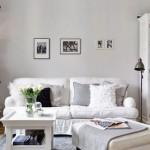 6-cateva polite cu carti in apropierea canapelei din living