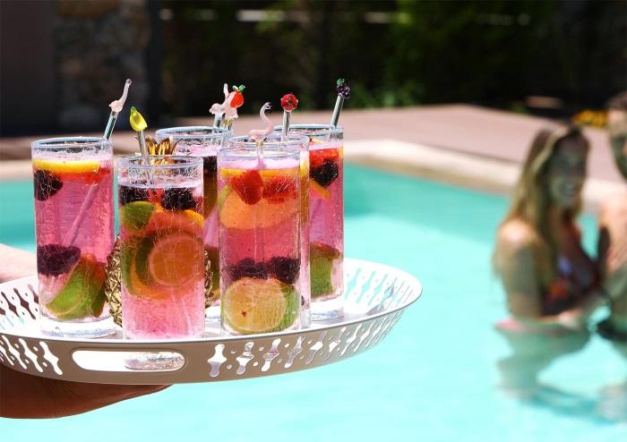 coctail piscina vila Thassos Byblos Mare