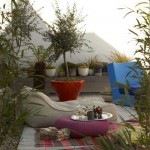 6-colt de relaxare amenajat pe o terasa spatioasa
