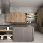 6-combinatii de gri cu stejar mobila moderna bucatarie