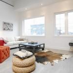 6-decor minimalist accente industriale living covor blana naturala